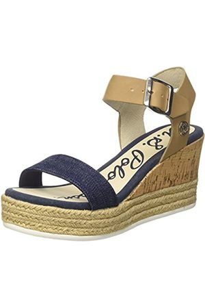 Womens Tay Spheres Ankle Strap Sandals, Black U.S.Polo Association