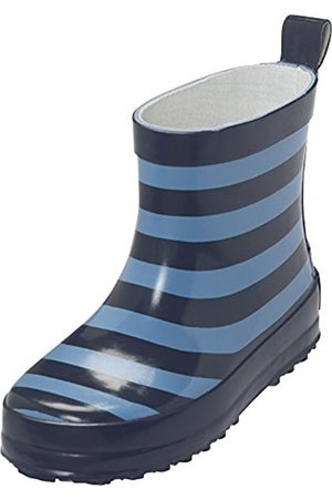 Playshoes Kids' Gummistiefel Ringel Nieder Wellington Boots