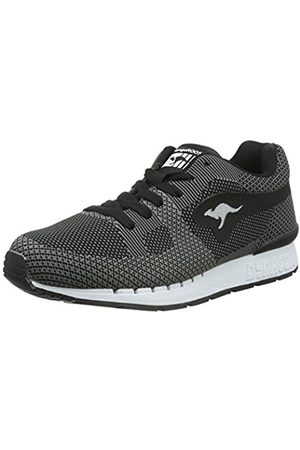 KangaROOS Unisex Adults' Coil R1-Woven Low-Top Sneakers Size: 8 UK (42 EU)
