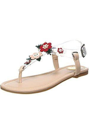 Buffalo Women's 1714S07-14 Patent PU TPU Flip Flops