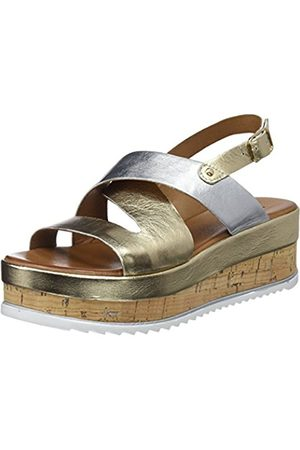 Inuovo Women's 8821 Ankle Strap Sandals