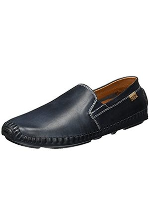 Pikolinos Leather Loafers Jerez 09Z Navyblue