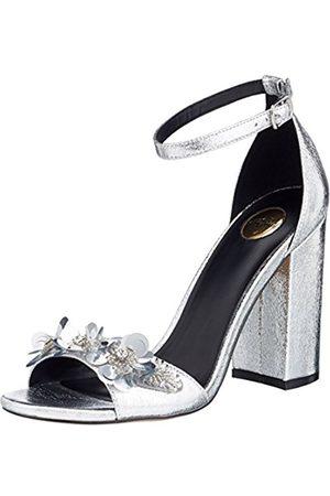 Womens 317-0740 Satin Ankle Strap Sandals Buffalo AbPLSGd