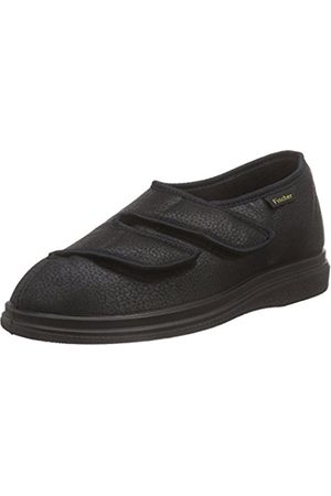 Fischer Unisex Adults' Bequem Schuh Schwarz Softlan Cold-Lined Slippers Size: 8