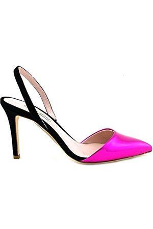 Gianni marra Women's 4000 Closed Toe Heels, (Nappa Cipria+Specchio Oro Rosa 18318)