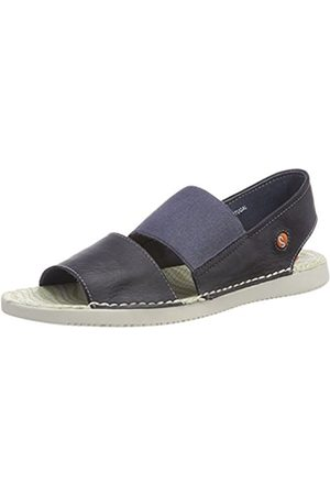 softinos Women's Tai383sof Washed Open Toe Sandals