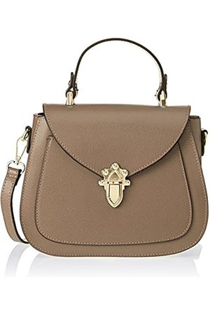 Chicca borse Women's CBS178484-610 Top-Handle Bag (taupe taupe)