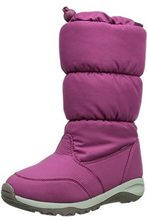 Kamik Unisex Kids' BOMBSHELL Warm lined snow boots half length, (BERRY/BER)