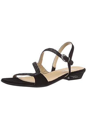 IGI Co Women's DMI 13846 Fashion Sandals Schwarz (NERO/NERO) Size: 3.5