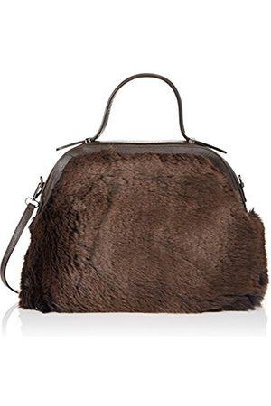Chicca borse Women's CBS178484-9 Top-Handle Bag (DARKBROWN DARKBROWN)