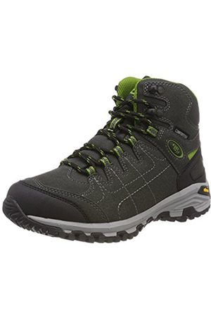 Unisex Adults Kansas High Rise Hiking Boots, Black Br
