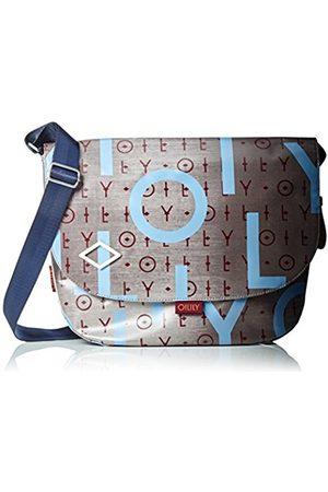 Oilily Lori Shoulderbag Lhf, Women's Cross-Body Bag, Grau