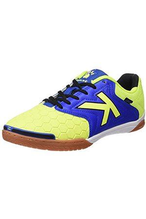kelme Feline 3.0, Men's Futsal Shoes, Multicoloured (Lima/Azul)