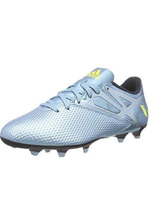 adidas Messi 15.3 FG/AG, Men's Football Boots, Azul/Amarillo/Negro