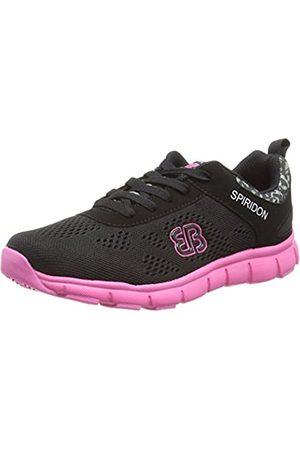 Bruetting Women's Cosmos Running Shoes, (Schwarz/ )