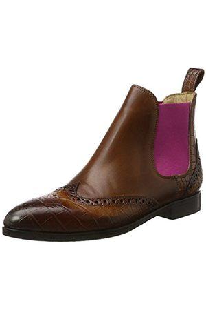 Melvin & Hamilton Women's Jessy 4 Chelsea Boots Brown Size: 6 UK