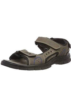 Manitu 610233, Mens Ankle Strap Sandals, ( 8)