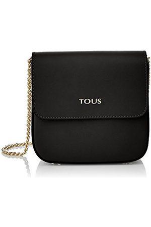 TOUS Renita Piel Rene Women's Messenger Bag, (Negro 495900348)