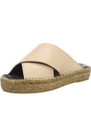 Royal RepubliQ Women's Wayfarer Cross Sandal-Nude Loafers