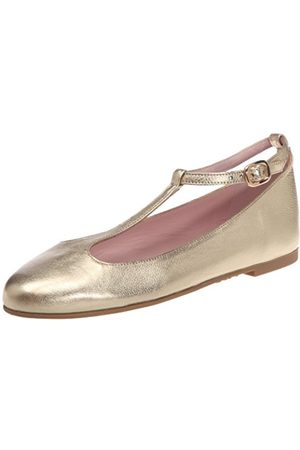 Pretty Ballerinas Women's 40621 Ballet Flats Gold Or (Bella oro) 3