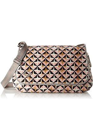 Oilily Lori Geometrical Diaperbag Lhf, Women's Cross-Body Bag