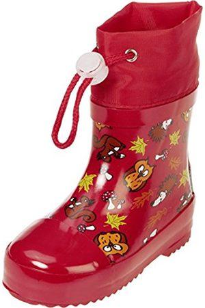Playshoes Unisex Kids' Waldtiere AUS NATURKAUTSCHUK Gefüttert Wellington Boots
