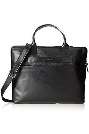 Royal RepubliQ New Courier Single Caviar, Unisex Adults' Laptop Bag, Schwarz