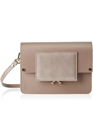 Chicca borse Women's CBS178484-493 Shoulder Bag (taupe taupe)