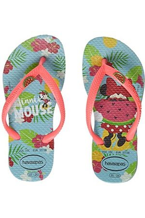 aeb735aa2056 Havaianas Adult s Kids Disney Cool Flip Flops (Ice  Coralnew) 8 9 UK