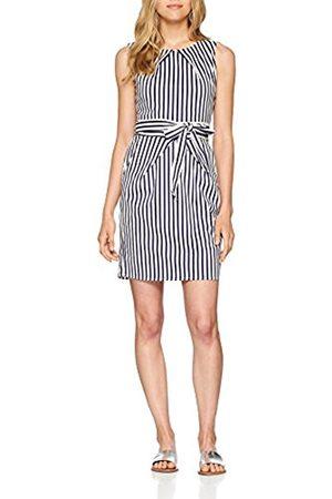 Mela Women's Stripe Tulip Dress, (Navy/ )