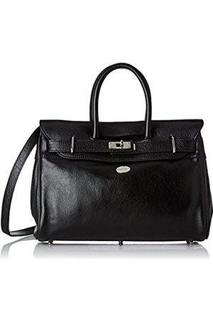 Mac Douglas Women's PYLA BUNI Top-Handle Bag (Noir 1)