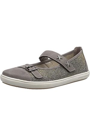 Rieker Girls' K3005 Mary Jane Flats staup/ -silber Size: 1 UK
