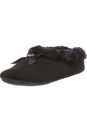 flip*flop Women's couchy Slippers Schwarz (000) 6