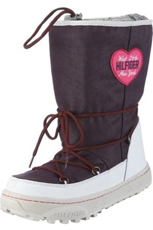 Tommy Hilfiger Junior Webber Jr 2B Lila Snow Boot Fu76813116 1 UK