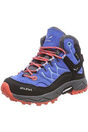 Salewa Unisex Kids' Jr Alp Trainer Mid GTX High Rise Hiking Shoes