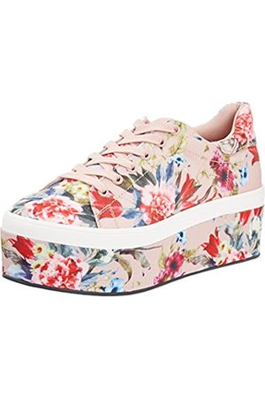 Womens 516-3903-2 Fabric Flower Print Low-Top Sneakers Buffalo PzyTs7Z9r