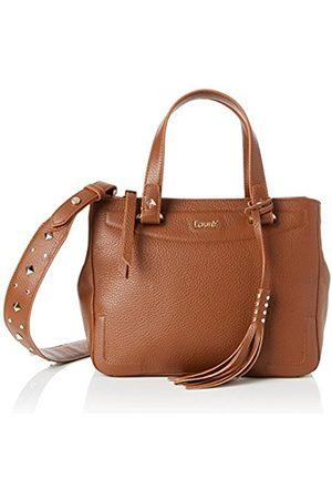 Laurèl 5802, Women's Shoulder Bag, Braun (Cognac)