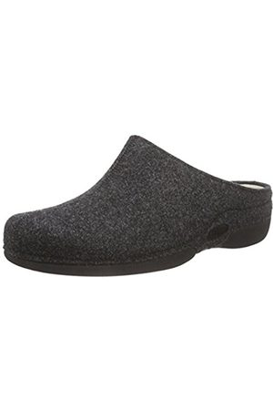 Berkemann Women's Lauren Slippers Grey Size: 10.5 UK