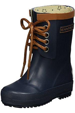 EN FANT Boys' Rubber Rain Wellington Boots, (Navy-04 Navy)
