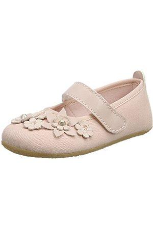 Living Kitzbühel Girls' Ballerina Mit Blumen & Nieten Slippers
