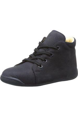 Däumling Unisex - Baby Polly Baby Shoes Blau (Nubuk ozean) Size: 20