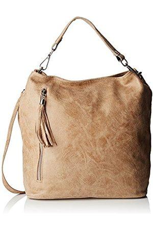 Chicca borse 80054, Women's Top-Handle Bag, Grigio (Fango)