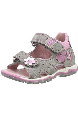 Richter Kinderschuhe Girls' Jumbo Heels Sandals Grey Size: 7.5 UK