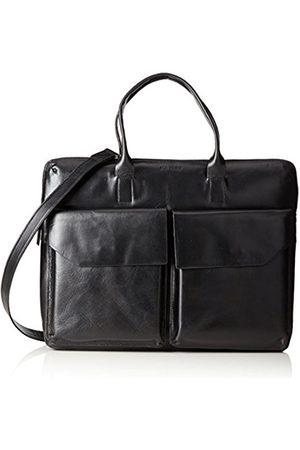 Royal RepubliQ New Courier Day, Unisex Adults' Messenger Bag, Schwarz