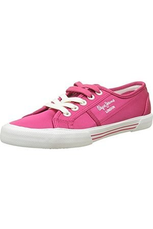 Pepe Jeans Women's Aberlady Satin Trainers
