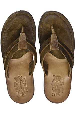 Stockerpoint Men's 1335 Beach & Pool Shoes, Havanna gespeckt