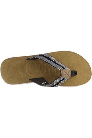 s.Oliver Men's 17202 Flip Flops