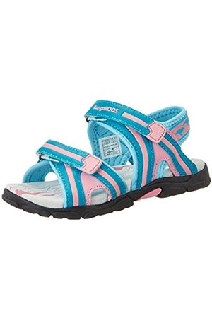 KangaROOS Girls' Corgi Ii Wedge Heels Sandals Multi-Coloured Size: 6