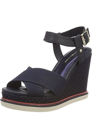 Tommy Hilfiger Women's Sporty Stretch Wedge Corporate Espadrilles