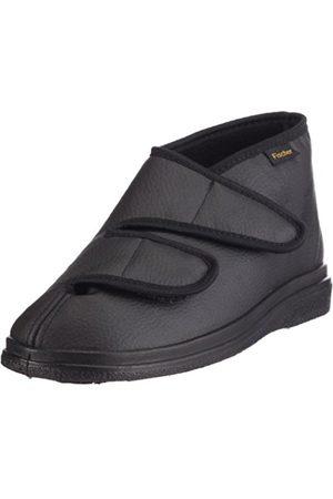Fischer Unisex Adults' Bequem Schuh Hoch Schwarz Unlined high house shoes Size: 3